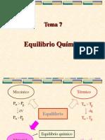 Tema 7-Equlibrio Quimico