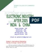 India China Elctronis 2005 (Purohit)