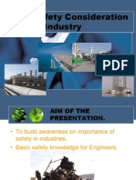 Safety Consideration in Industry-Female
