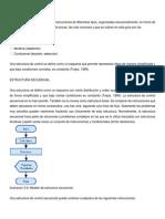 investigación estructuras de control