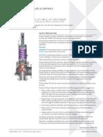 Manual de Instalação e Manutenção Crosby JOS-JBS-JLT