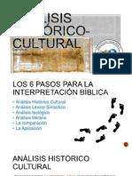 Análisis Histórico-Cultural