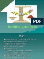 Echilibru acido bazic