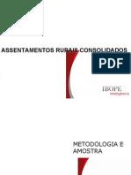Resumo Executivo Assentamentos Rurais Con Soli Dados