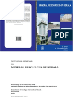 Mineral Resources of Kerala E Shaji and AP Pradeepkumar