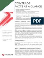 Comtrade Company Profile 2014