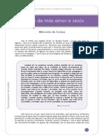 (01) - MIÉRCOLES DE CENIZA (A). Tiempo de más amor a Jesús (2)