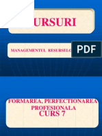Formarea ,Perfectionarea Profesionala