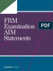 2014FRM AIM Statements