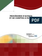 Procedures Achats