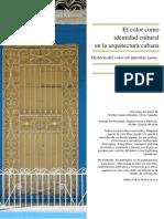 El Color en La Arquitectura Cubana