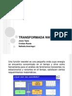 TRANSFORMADA WAVELET