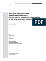 POLLUTION PREVENTION AND MANAGEMENT STRATEGIES FOR PAHs IN THE NEW YORK/NEW JERSEY HARBOR