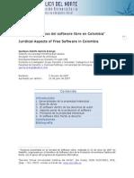 Ley Sobre Software Libre en Colombia