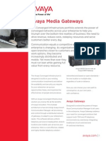 Avaya Media Gateways 1