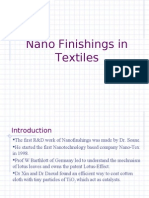 Nano Finishings in Textiles