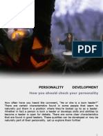 Check Your Personality