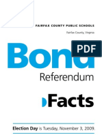 2009 Bond Referendum Facts