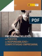 Presencia de Mujeres en Puestos de Responsabilidad y Competitividad Empresarial