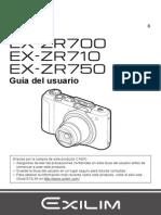 Casio Ex Zr700
