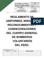 Reglamento de Uniformes 129-200