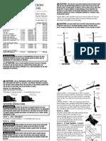 Manual RWS Rifle Letter