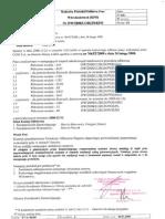 koDcowy protok��B odbioru prac wdro|eniowych