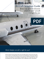 NetJets - Aircraft Selection Guide