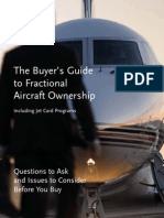 NetJets - The Buyer's Guide to Fractional Aircraft Ownership