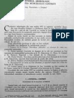 Daicoviciu C.& Colaboratorii - Santierul Arheologic Gradistea de Munte-Costesti-1957-(MCA,VI,1960)