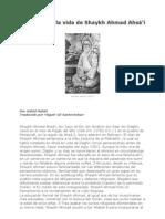 Bosquejo de La Vida de Shaykh Ahmad