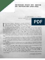 Daicoviciu C.& Colaboratorii - Santierul Arheologic Dacic Din Muntii Orastiei-1960-1966-(MCA,X,19)