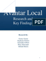 318 Final Findings