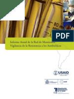 AMR Red Monitoreo Vigilancia Resistencia Antibioticos Informe 2008