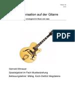 Improvisation Auf Der Gitarre