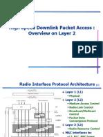 HSDPA L2 Overview