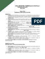 2012 Istorie Etapa Nationala Barem Clasa a XII-A 0