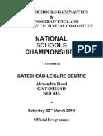 National Schools Prog 2014