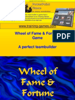 Tgi Freewheel Fame Fortune Game