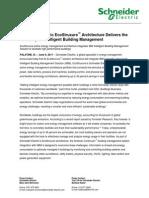 EcoStruxure IBM Partner Announcement