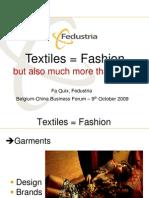 Belgium–China Economic and Trade Forum, October 2009, Brussels