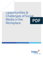 White Paper- Social Media in the Workplace
