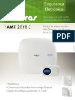 Catalogo AMT 2018 E Central de Alarme Monitorada Com 18 Zonas 8 8 2 Com Fio 24 Sem Fio