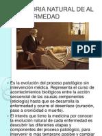 Historia Natural de Al Enfermedad