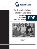 2013-14 mathematics preliminary item and scoring sampler grade 4