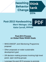 Post-2015 Handwashing Advocacy