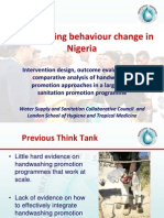 Handwashing Behaviour Change in Nigeria