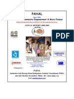 Pahal Annual Report 2008 - 09