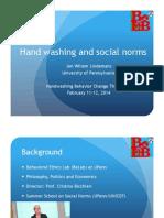 Handwashing & Social Norms Presentation