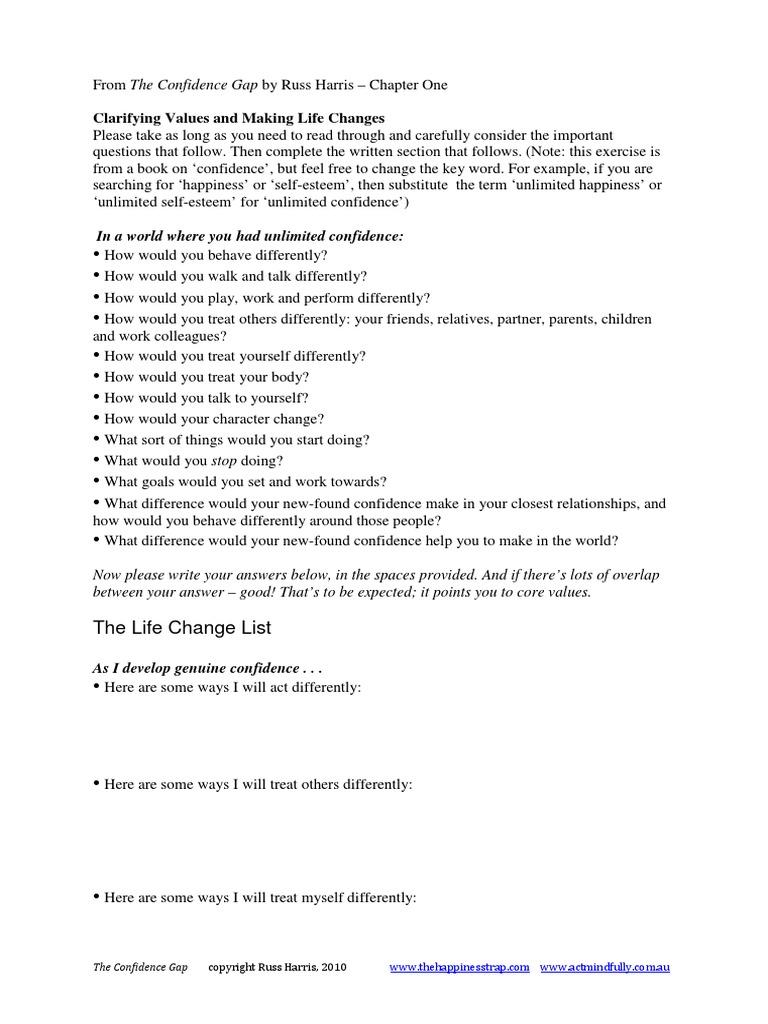Workbooks » Improving Self Esteem Worksheets - Free Printable ...